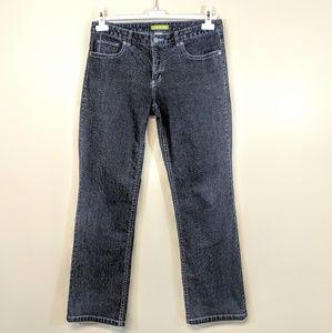 Sigrid Olsen Stretch Straight Leg Jean